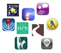 Collage of apps