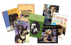 Picture of guide dogs books