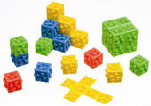Picture of Omnifix Cubes.