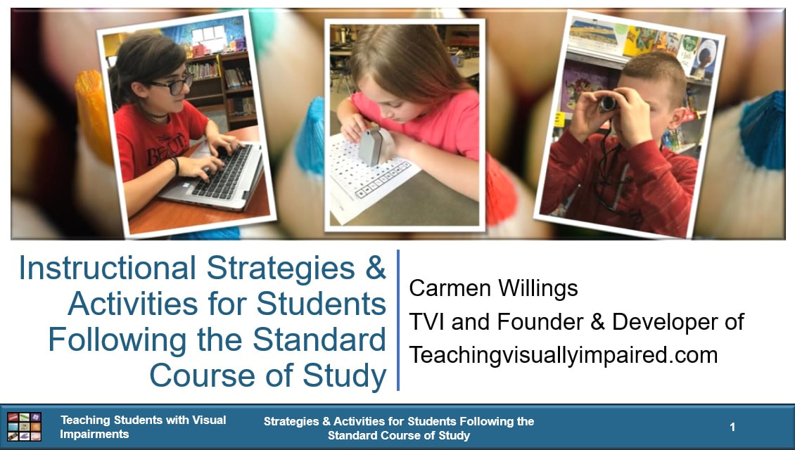 Cover of Strategies & Activities for Students Following the Standard Course of Study with 3 picture of students on a background of colored pencils