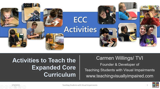 Cover slide of Core Activities to Teach the ECC