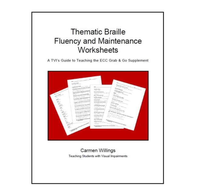 The impact of blindness visual impairments on development thematic braille fluency and maintenance worksheets a tvis guide to teaching the ecc grab go supplement ibookread Read Online